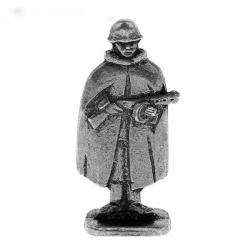 """Солдатик №1 """"Рядовой в плащ-палатке"""" (1033087)"""
