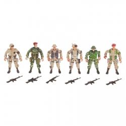 """Набор солдатиков """"Спецназ"""", 6 шт. (616652)"""