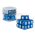 """Набор синих кубов """"Цитадель,12 мм"""" (Citadel 12mm Dice Set) (65-36)"""