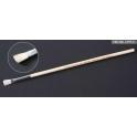 Кисть плоская широкая №3 (конский волос, ручка дерево) (87014)