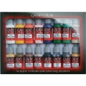 Game Color Introduction (16 colors) 17 ml. (72299)