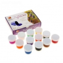 Paints acrylic. Set of 12 colors * 15 ml (22C 1409-08)