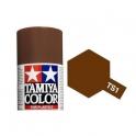 TS-1 Red Brown (Красно-коричневая) краска-спрей 100 мл (85001)