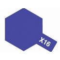 X-16 Purple (Фиолетовая) краска эмалевая глянцевая 10 мл