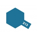 X-13 Metallic blue (Синий металлик) краска эмалевая глянцевая 10 мл