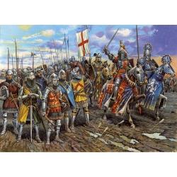 Английские рыцари 100-летней войны IV-V вв. н.э. (8044)