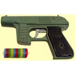 Пистолет с дисковыми пулями