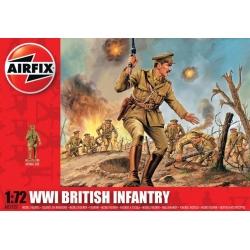 WW1 Британская пехота 1:72