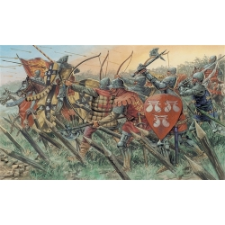 Английские рыцари и лучники (100-летняя война) 1:72