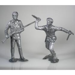Американские скауты, набор №1 из 2 фигур (150 мм)