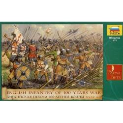 Английская пехота 100-летней войны