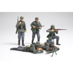 1/35 Набор немецких пехотинцев, французская кампания WWII
