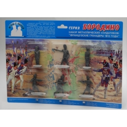 Borodino. French grenadiers number 1 (01201)