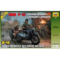 WW2 Немецкий мотоцикл БМВ Р-12