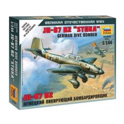 "WW2 Немецкий пикирующий бомбардировщик Ju-87 B2 ""Stuka"" (6123)"