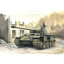 WW2 Танк Sd. Kfz. 171 PANTHER Ausf.A