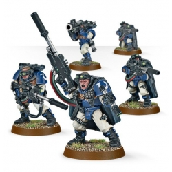 "Набор "" Разведчики Космодесанта со снайперскими винтовками (Space Marine Scouts Sniper Rifles)"