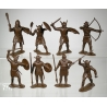 Viking, a set of figures 8 (65 mm)