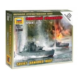 WW2 Советский бронекатер Проект 1125