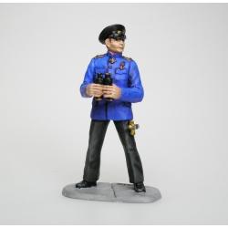 Admiral Kolchak. Painted