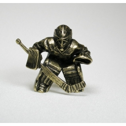 "Figurine ""Ice hockey player"""