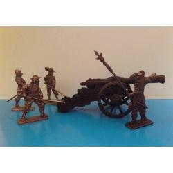 Артиллерия, шведская армия короля Густава Адольфа