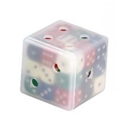 Набор разноцветных кубиков (Dice Cube)