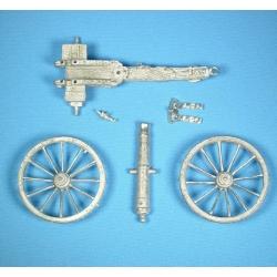 Британская пушка периода наполеоновских войн, набором  (koof-a01kit)