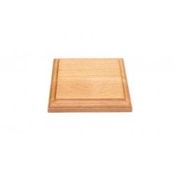 Деревянная подставка 120x120x17, бук (S210B)