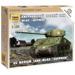 """WW2 Американский танк """"Шерман"""" (6263)"""