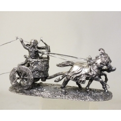 Persian war chariot (40 mm, blackening)