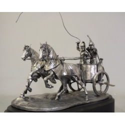 Carthage war chariot (54 mm, blackening)