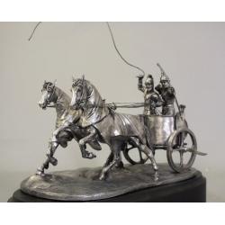 Карфагенская боевая колесница (54 мм, чернение)