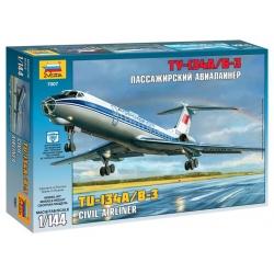 Российский авиалайнер ТУ-134 А/Б-3 (7007)