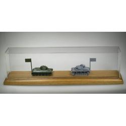 Деревянная подставка из бука с крышкой (S231B)