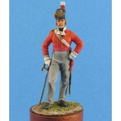 Британский офицер пехотных полков, 1812-15 гг. (CMOS-54004(M))