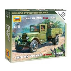 WW2 Советский армейский 3-тонный грузовик ЗИС-5 (6124)