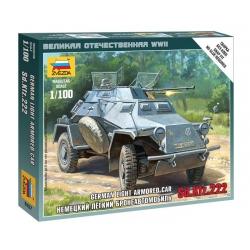 WW2 Немецкий легкий бронеавтомобиль Sd.Kfz 222  (6157)