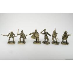 Грюнвальдская битва, Тевтонский орден (латунь)