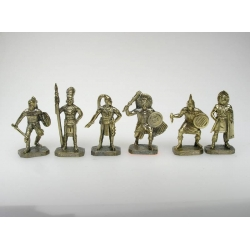 Indians of Central and South America, brass (PTS-4012brass)