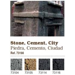 Vallejo. Набор сухих пигментов - Камень, цемент, архитектура / Stone and cement, city (73198)