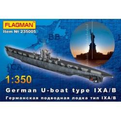 Германская подводная лодка типа IX A/B (235005)