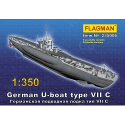 German U-boat type VII C (235006)