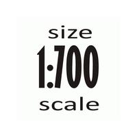 Масштаб 1:700