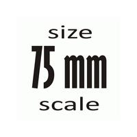 75 мм (1:24)