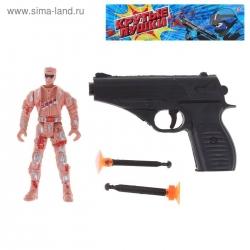 """Пистолет """"ПМ"""" с двумя присосками (1172990)"""
