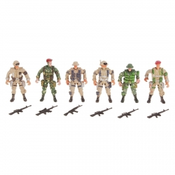 Soliders Spesial Forces, set of 6 (616652)
