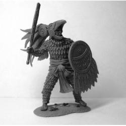 Aztec Eagle warrior, XIV-XVI century (CHM-54058)