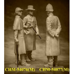 Sherlock Holmes and Dr. Watson, 1890, 2 figures (CHM-54076 (M))