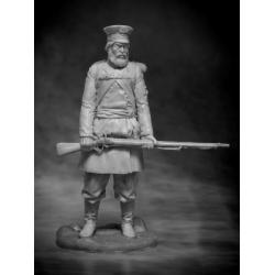 Русский ратник С-Петербург или Пензенского ополчения, 1812 (CHM-54084(M))
